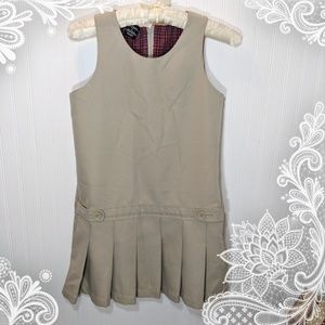 George Tan Romper Dress Size 8